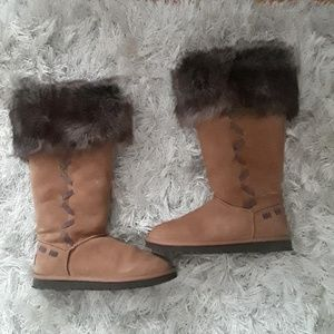 Ugg Fur Boots Size 5